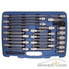 """Millerighe noce Set 1//4/"""" pollici per auto chiavi a bussola insieme di strumenti noci TORX 4-13 mm"""