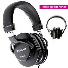 TASCAM TH-MX2 Close Back Recording Mixing Home Studio Headphones - Black