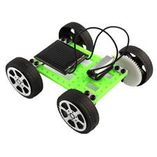 1 Set Mini Solar Powered Toy DIY Car Kit Children Educational Gadget Hobby Funny