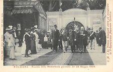 8854) BOLOGNA 1904 IL RE INAUGURA LA I ESPOSIZIONE NAZIONALE TURISTICA.