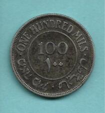 PALESTINE SILVER 100 MILS 1927