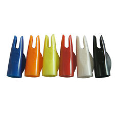 "Archery Hunting Compound Bow Plastic Arrow Nocks for 5/16"" Arrows Pack of 50"
