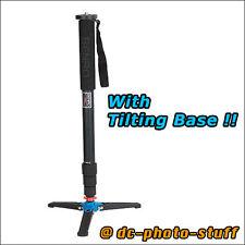 Benro A38TD Aluminium Monopod w/ VT1 Tilting Leg Base