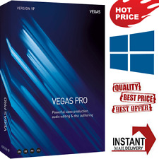 ✅ 🔥 Sony MAGIX Vegas Pro 17 FULL VERSION FAST DELIVERY LifeTime windows key 🔥✅