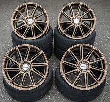 19 Zoll MCT11 Bronze 5x108 Alu Felgen für Ford C-Max Focus ST RS Cabrio DYB