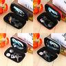 Portable Earphone Data USB Cable Travel Case Organizer Pouch Storage Bag Hot