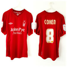 Nottingham Forest Home Cohen Shirt 2012. Small Adults. Official Umbro. Red Top S