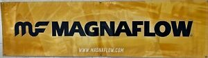 Magnaflow Racing Banner Flag 7 x 2 Black Garage Car Shop Wall Decor US FREE SHIP