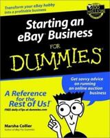 Starting an eBay Business for Dummies by Marsha Collier (2001, Paperback)