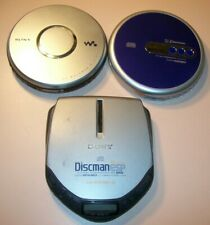 New ListingLot of 3 Portable Cd Players (Sony Discman/Walkman, Emerson), Working