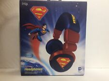 SUPERMAN HEADPHONES IHIP zeikos BRAND NEW dc comics