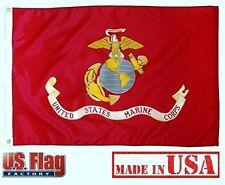 Us Flag Factory 3'x5' Us Marine Corps Outdoor SolarMax Nylon Flag (935Marine)