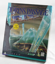 Vintage Big Box PC Sealed - Sierra Torin's Passage Near MINT Win / DOS CD
