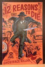 12 REASONS TO DIE #1 (2013) JASON JAGEL GHOST VARIANT BLACK MASK