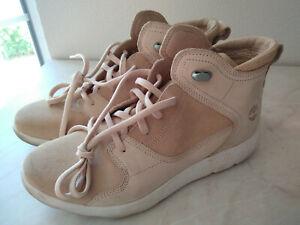 Timberland Damen High Sneaker beige 40 Leder