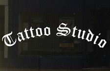 Tattoo Studio Shop vinyl sticker window door sign graphics commercial parlour