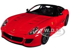 FERRARI 599 GTO RED 1/24 DIECAST MODEL CAR BY BBURAGO 26019