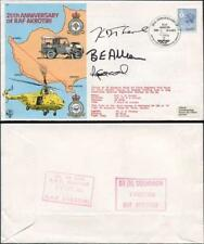 C85b 25th Ann of RAF Akrotiri Signed Driver and co-driver and Whirlwind Captain