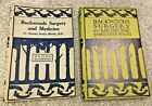 VG+ Backwoods Surgery and Medicine Moody 1930 Antique Medical Book Wilderness