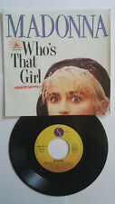 45 T vinyl. MADONNA ( Who's that girl ) 1987 . OCCASION.