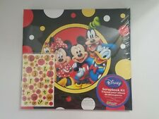DISNEY CHARACTERS SCRAPBOOK KIT ALBUM WITH STICKER AND PAPERS NEW