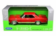 1965 Buick Riviera Gran Sport Coupe Die-cast Car 1:24 Welly 8 inches Red