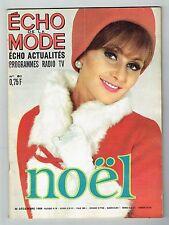 Echo De La Mode N°51 - 20 Décembre 1964 - Noël