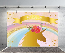 7*5Ft Vinyl Background Unicorn Kids Themes Photography Photo Backdrop Studio