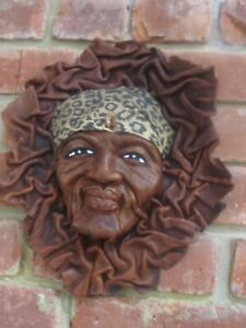 Leather Mask-African Face/Head-Hand Made-New-from S.Africa-Collectible-all Sizes