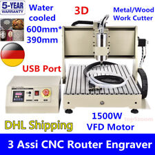 USB 3 axis 1.5KW 6040Z CNC Router Engraver Machinea Fresador Milling Metal Steel