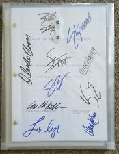 Lord Of The Rings: The Return of the King  Cast Signed Script