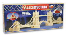 "Matchitecture 6631 Tower Bridge London 72"" Matchstick Model Kit Tracked 48 Post"