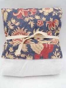 Pottery Barn Farrell Print Bed Skirt Queen Warm Multi #7452