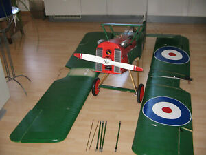 RC Modell SE5a, Scale, gebraucht 2200 mm,