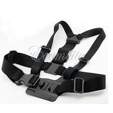 Camera Chest Mount Harness for GoPro HD Hero 3+ 3 2 1 Chesty Strap Accessories