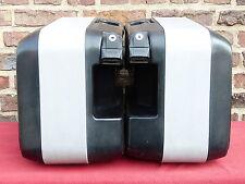 Krauser K2: 2 grosse Seiten-Koffer Seitenkoffer Koffersatz Motorradkoffer