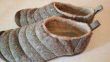 KEEN Loafers Slip On Shoes Wool Fleece Men's Size Gray Slippers