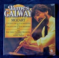 JAMES GALWAY & THE NEW IRISH CHAMBER ORCHESTRA MOZART CONCERTOS SEALED UK LP