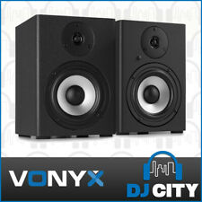 Studio Monitor Pair 5-Inch Audio Reference Speakers Recording PA Vonyx SM50
