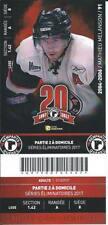 QMJHL Ticket - Quebec Remparts 20th Anniversary MATHIEU MELANSON #91