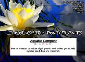 AQUATIC COMPOST - AQUATIC POND SOIL - READY TO USE FOR AQUATIC PLANTS BASKET