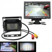 120°  LED Car Truck  Rear View Night Vision Reverse Video Backup Parking Camera