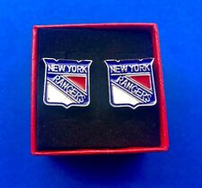NY Rangers Cufflinks Set Hockey Cuff Links US SELLER Fast Shipping NEW