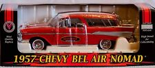 Heatcraft Diecast 1/24 57 Chevy Red Bel Air Nomad ...Crown Jewels collection