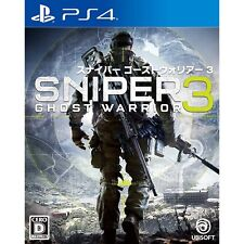 Ubisoft Sniper Ghost Warrior 3 SONY PS4 PLAYSTATION 4 JAPANESE VERSION