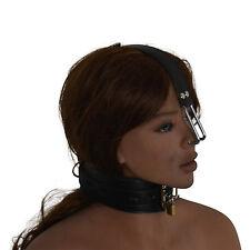 Clamp Nez arc neck nose shackle bondage BDSM domina intime fetish  NEUF