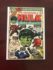 The Incredible Hulk Annual #5 (Oct 1976, Marvel)   High Grade Groot