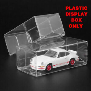 25x 1:64 Plastic PVC Display Protector Case Box For Diecast Model Car Toy *