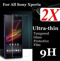 TEMPERED GLASS SCREEN PROTECTOR COVER FOR SONY XPERIA EXPERIA ALL MODEL