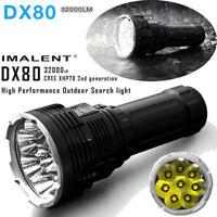 Imalent DX80  LED 32000lumen; waterproof up 2m; beam 806m; wide light range